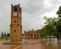 Fontaine en Chiapa de Corzo Images libres de droits