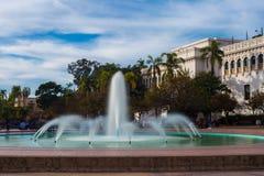 Fontaine en parc photo libre de droits
