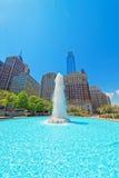 Fontaine en parc d'amour à Philadelphie de PA Images stock