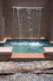 Fontaine en stationnement Photographie stock