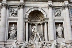 Fontaine Fontana di Trevi de TREVI Photos stock