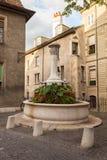 Fontaine Genève de rue Image libre de droits