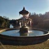 Fontaine glacée Images libres de droits