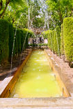 Fontaine of Hort del Rei gardens Palma de Mallorca Royalty Free Stock Photo