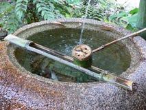 Fontaine japonaise Images libres de droits