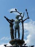 Fontaine, Kempten, Allemagne Photo libre de droits