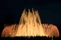 Fontaine magique Photographie stock libre de droits