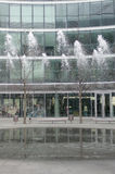 Fontaine moderne Images libres de droits