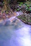 Fontaine naturelle de cascade de Sai Yok en parc national, Kanchanaburi, Thaïlande Photographie stock libre de droits