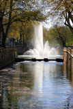 Fontaine Nimes France Stock Photo