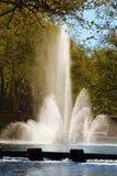 Fontaine Nimes Frankrike Arkivfoton
