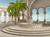 Fontaine orientale illustration libre de droits