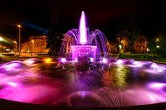 Fontaine près du théâtre dramatique Photo stock