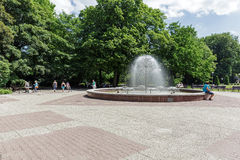 Fontaine qui s'appelle Dandelion Images libres de droits
