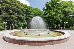 Fontaine qui s'appelle Dandelion dans Kolobrzeg Photographie stock