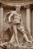 Fontaine Rome de TREVI Image libre de droits