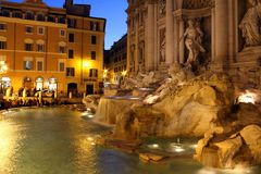 Fontaine Rome de TREVI Photo stock