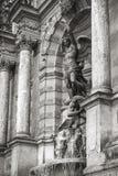 Fontaine Saint-Michel in Paris, France Stock Image