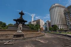 Fontaine sans eau Photos libres de droits