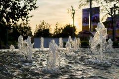 Fontaine sur la rue Photo stock