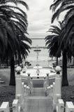 Fontaine sur le bord de mer de Geelong Photographie stock