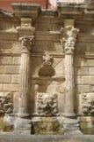 Fontaine vénitienne sur Crète Image libre de droits