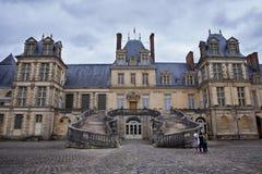 Fontaineblau Napoleon Palace immagine stock