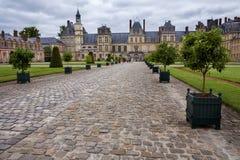 Fontaineblau Napoleon Palace immagini stock libere da diritti