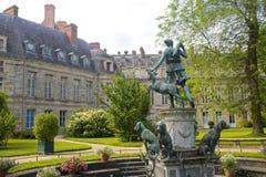 Fontainebleau foto de archivo