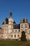 Fontainebleau castle Royalty Free Stock Image