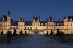 Fontainebleau castle Royalty Free Stock Images