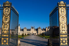 Fontainebleau castle Stock Photo