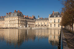 Fontainebleau castle Royalty Free Stock Photo