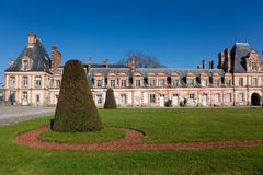 Fontainebleau castle Stock Photography