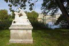 Fontainebleau castle Stock Photo