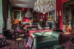 Fontainebleau, France - 16 août 2015 : Vue intérieure Photos stock