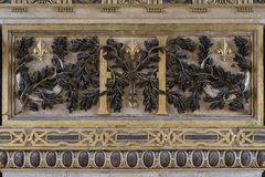 Fontainebleau, France - 15 August 2015 : Details, statue and furniture Stock Photos