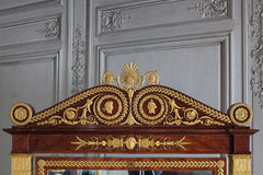 Fontainebleau, France - 15 August 2015 : Details, statue and furniture Royalty Free Stock Photos
