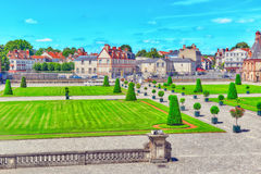 FONTAINEBLEAU, FRANCE - JULY 09, 2016 : Suburban Residence of th Royalty Free Stock Photos
