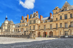 FONTAINEBLEAU, FRANCE - JULY 09, 2016 : Suburban Residence of th royalty free stock photography