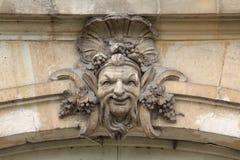 Fontainebleau, Francia - 15 agosto 2015: Dettagli, statua e mobilia Fotografia Stock