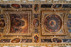Fontainebleau, Francia - 16 agosto 2015: Vista interna fotografia stock