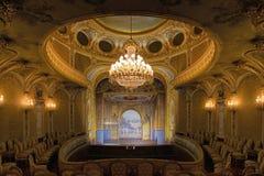 Fontainebleau, Francia - 16 de agosto de 2015: Visión interior Imagen de archivo