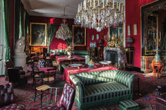 Fontainebleau, Frankrijk - 16 Augustus 2015: Binnenlandse mening Stock Foto's