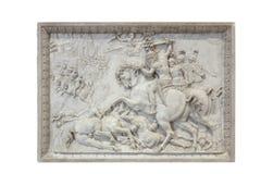Fontainebleau Frankrike - 15 Augusti 2015: Detaljer, staty och möblemang Royaltyfria Foton