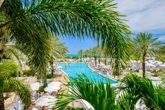 Fontainebleau hotel Zdjęcia Royalty Free