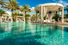 Fontainebleau hotel Obraz Stock