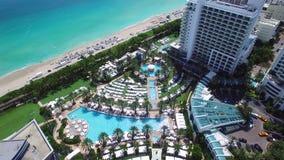 Fontainebleau Hotel Miami Beach stock footage