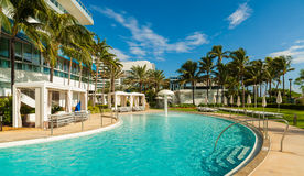 Fontainebleau Hotel Royalty Free Stock Image