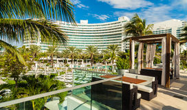 Fontainebleau Hotel Stock Photography